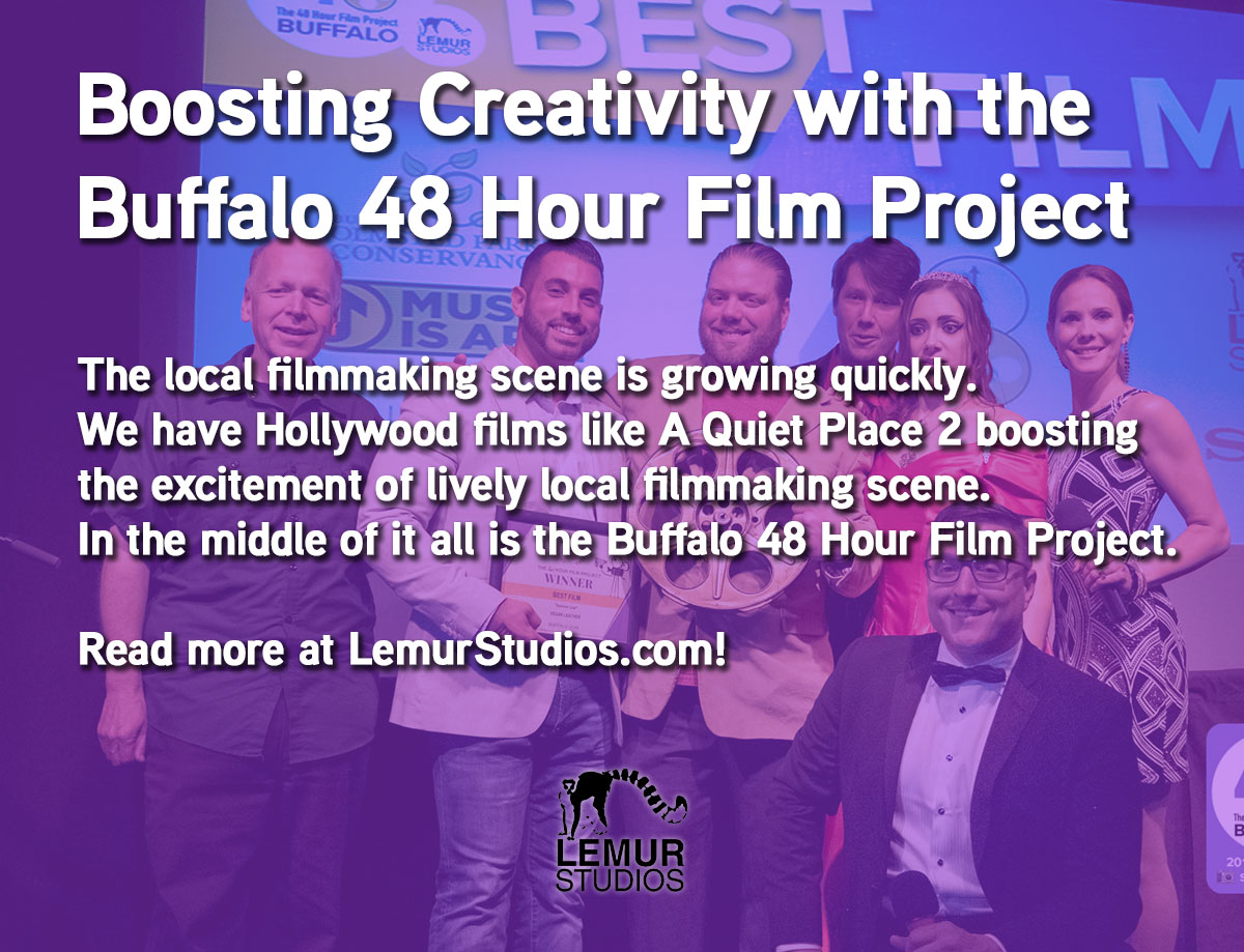 Boosting Creativity with The Buffalo 48 Hour Film Project